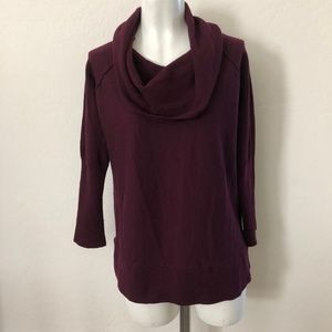 Tahari Purple Wool Sweater